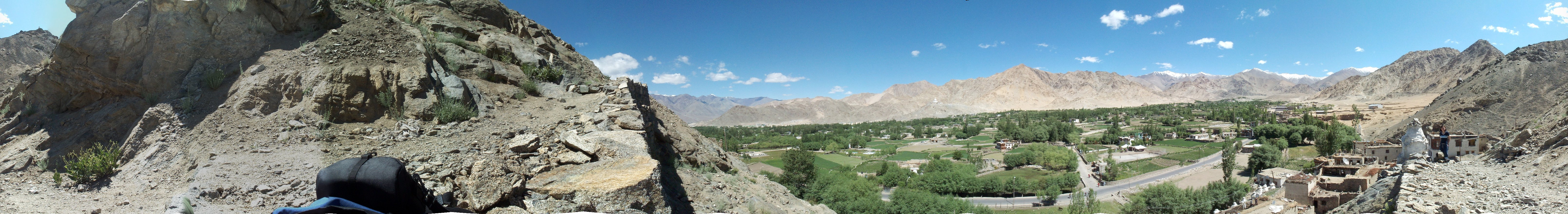 From Leh Palace, overlooking Leh