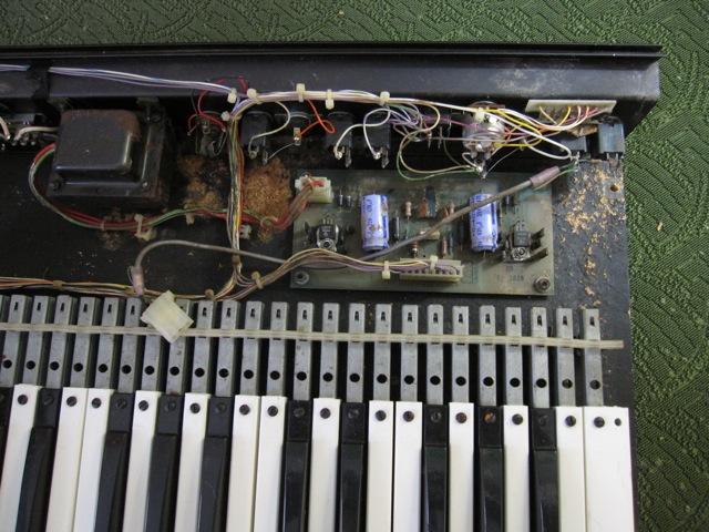 Restoring a Micromoog